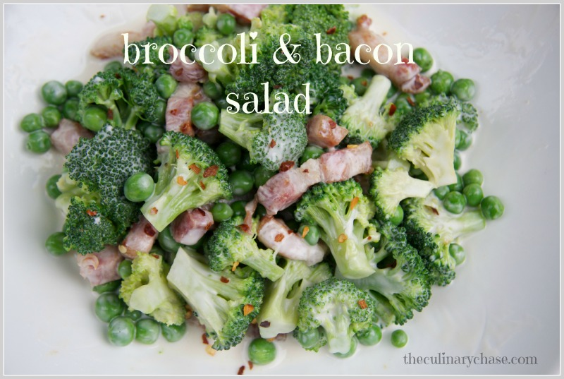broccoli & bacon salad by The Culinary Chase