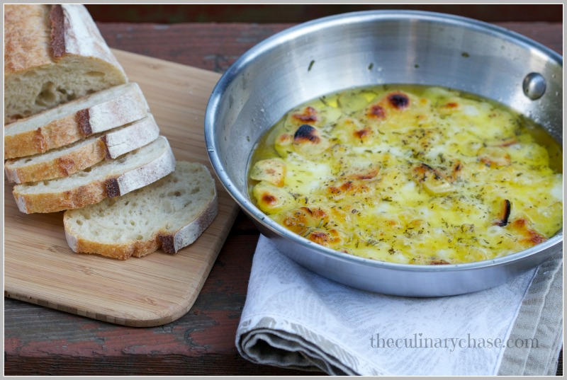 baked fontina dip by The Culinary Chase