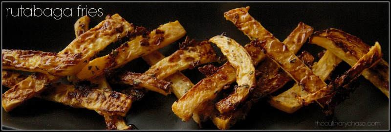 rutabaga fries by The Culinary Chase