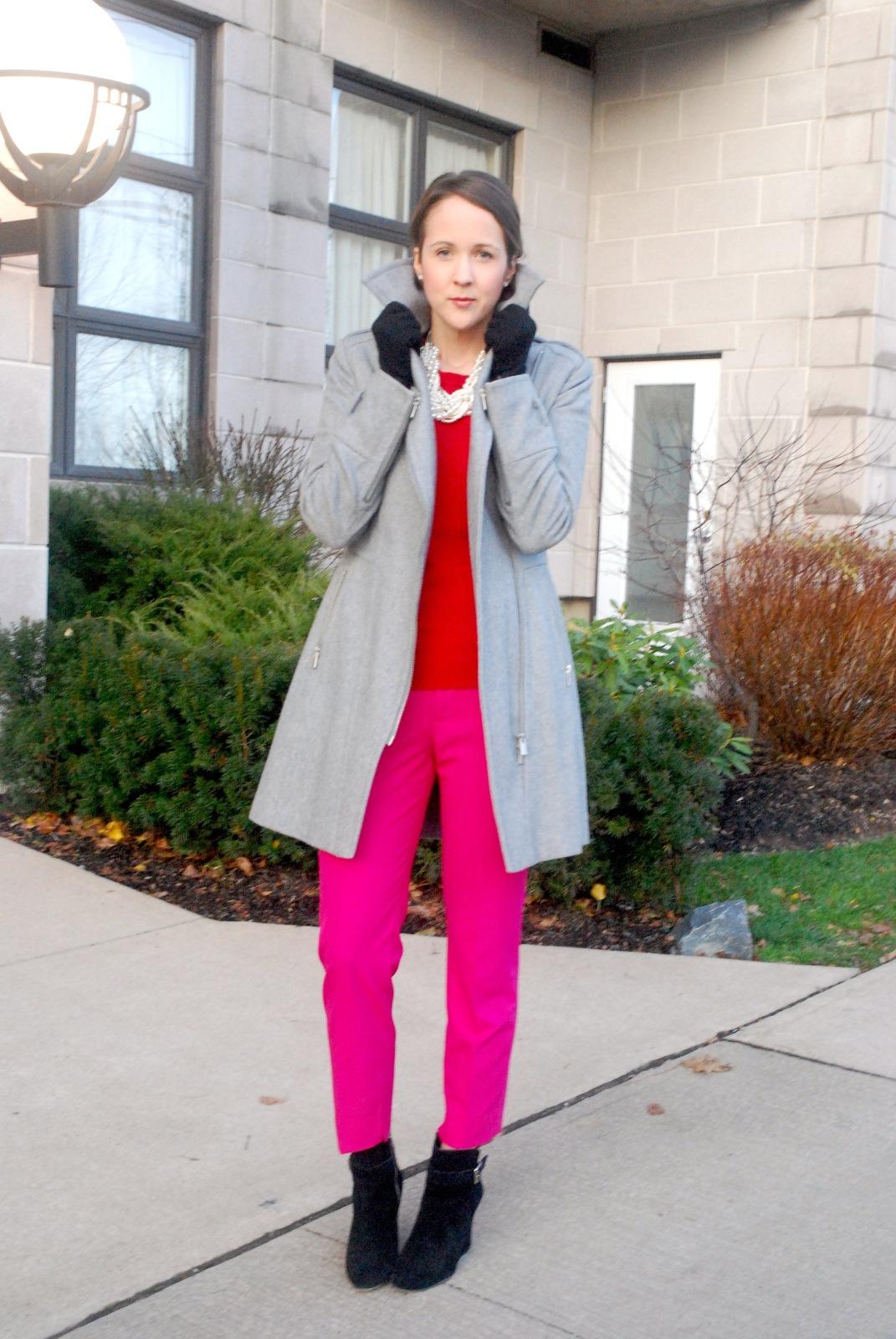 Ankle Boots, Zara Trousers, Gray Outerwear, Zara, Zara, Zara