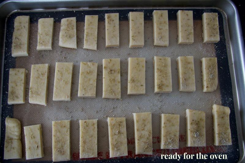 fennel shortbread