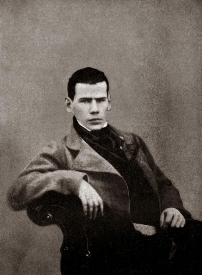 http://en.wikipedia.org/wiki/Leo_tolstoy