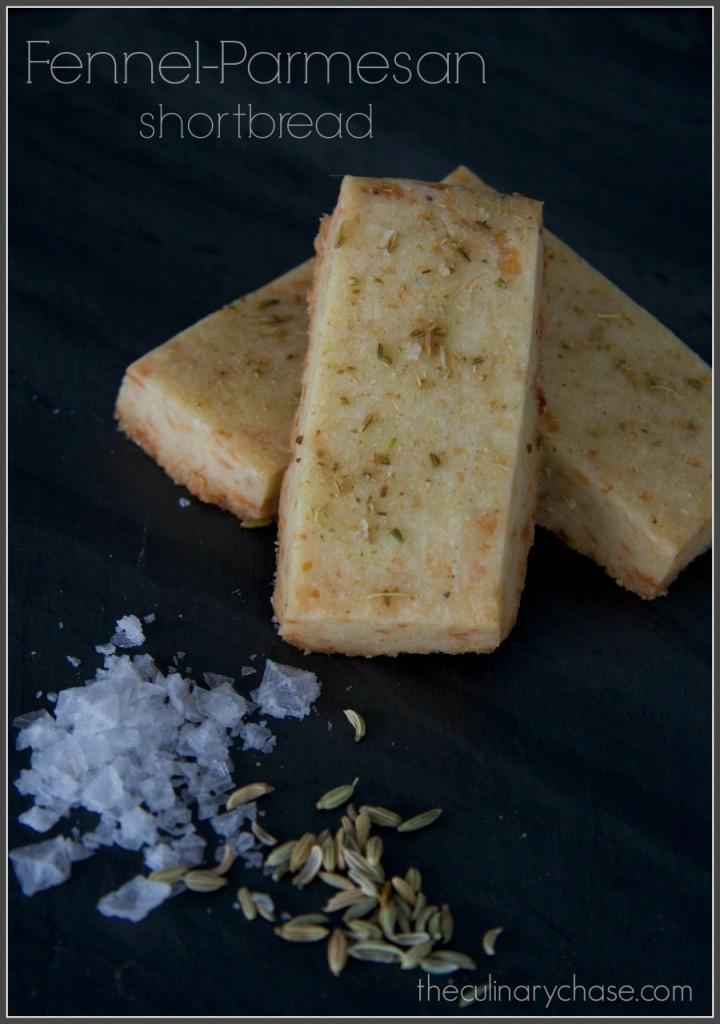 fennel-parmesan shortbread byThe Culinary Chase