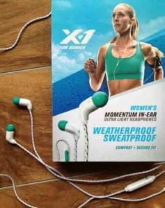X-1 Momentum Ultra Light Headphones