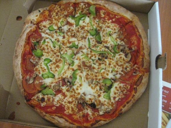 Combination Pizza at Kenny's - Sydney
