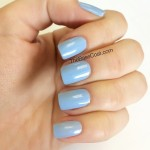 Thought I saw some sun out there today so I threw on @essiecanada Bikini So Teeny. This light baby blue with a slight shimmer screams springtime! #essie #notd #nails #nailpolish #nailsofinstagram #blue #spring #polishednails #polish #manicure #mani