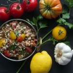Quinoa Barley Salad by The Culinary Chase