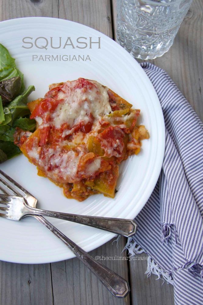 Squash Parmigiana