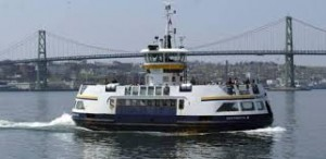 Briding the harbour with free ferry service...