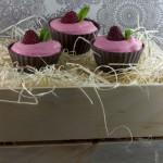 Raspberry Cranberry Mousse