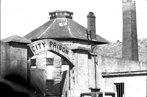 The old Rockhead Prison, which sat at the far side of the city