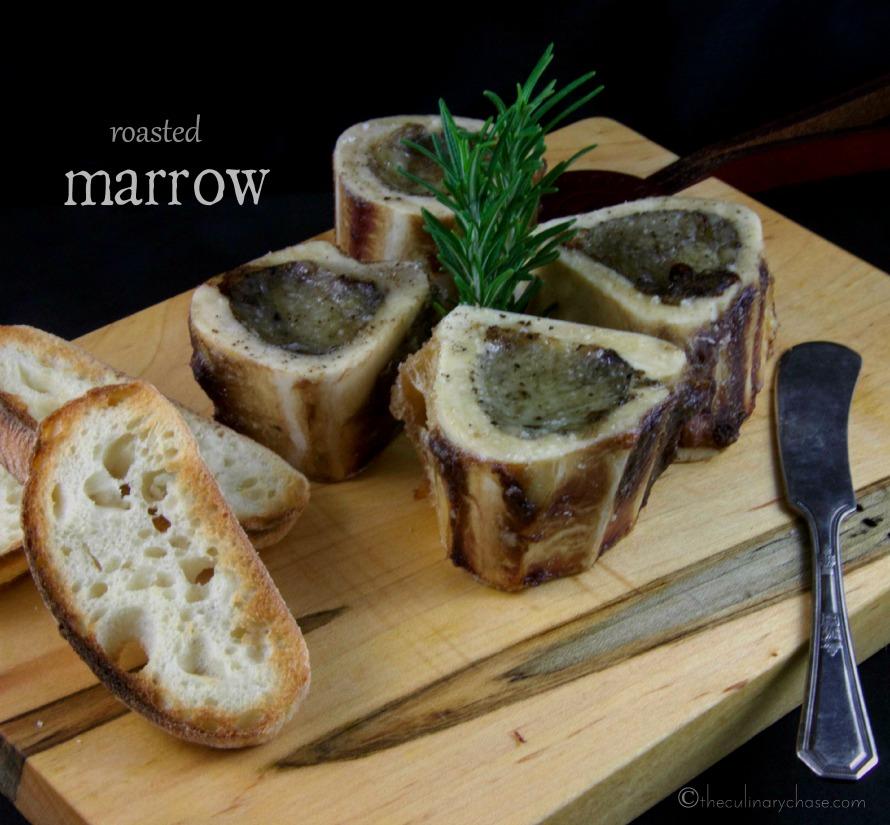 roasted marrow bone