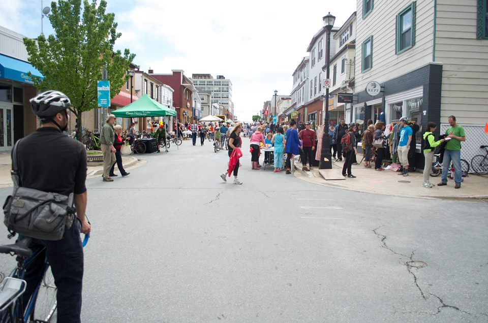Bike-friendly events like Switch have helped more people explore Downtown Dartmouth