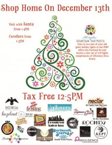 Experience the holidays in Downtown Dartmouth, save the Tax, visit with Santa, hear the carollers, and trade in your old light for new LED