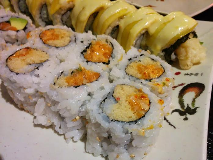 spicy salmon and golden dragon 2