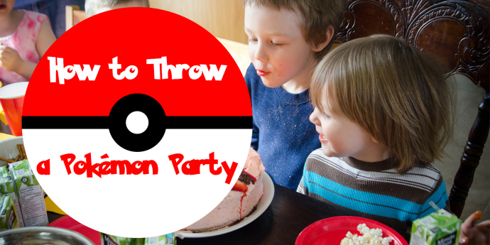 How to Throw a Pokemon Birthday Party at Mommy-Miracles.com