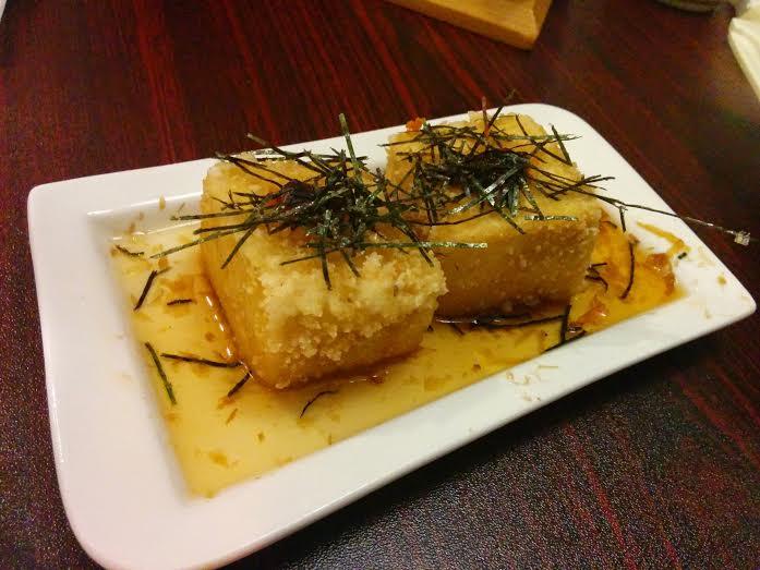 Agedashi Tofu at Wasabi Asian Cuisine