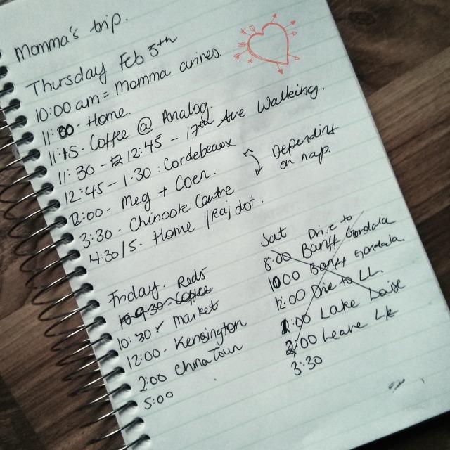 Laura's list