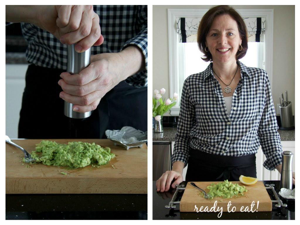 seasoned avocado