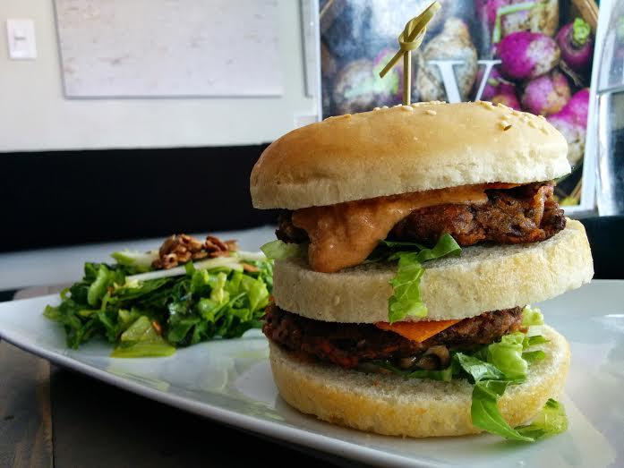 Vegan Big Mac at EnVie