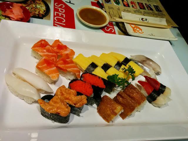 Nigiri Sushi at Sushi Jet