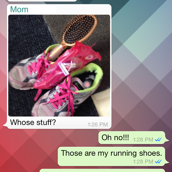 The Sneakers Make the Runner at Mommy-Miracles.com