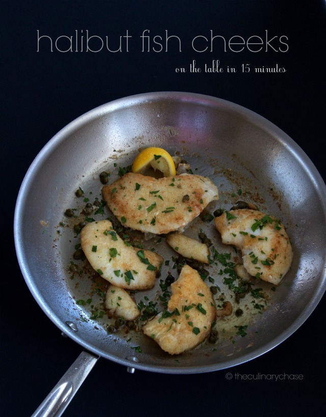 halibut fish cheeks