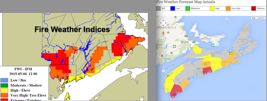 Fire Weather Indices