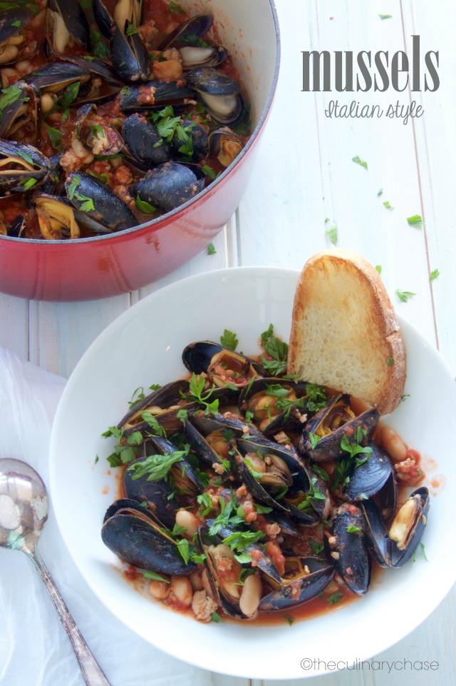 Mussels - Italian Style