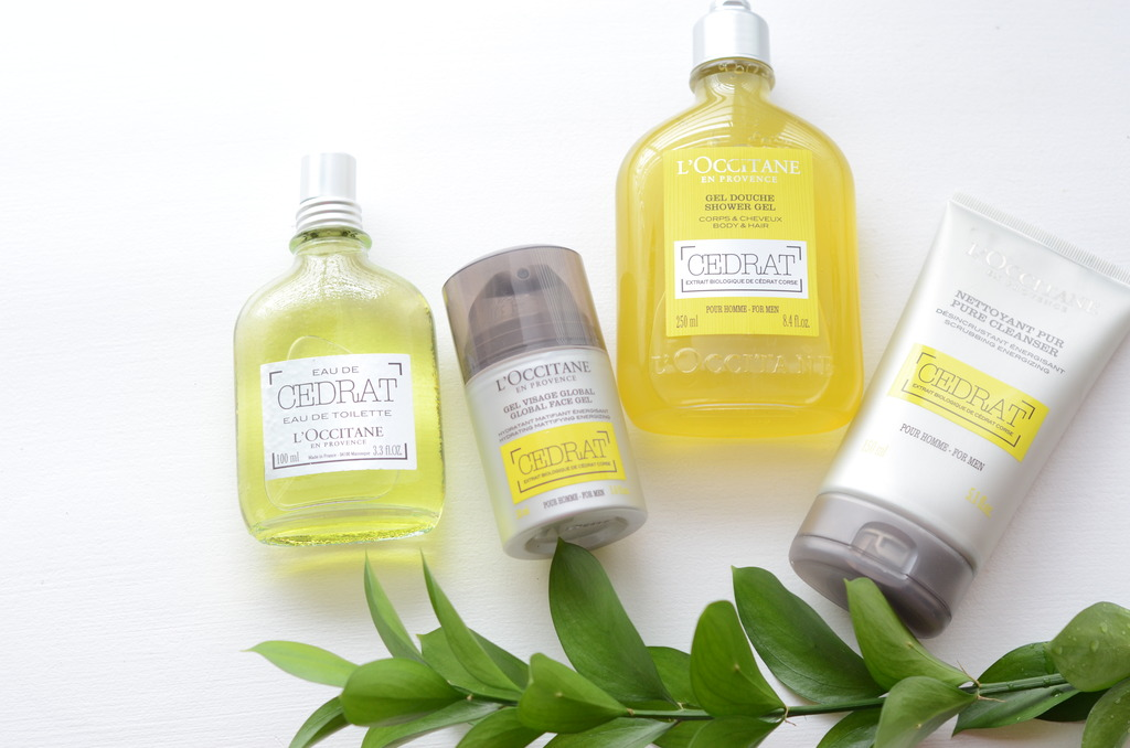 L'OCCITANE CEDRAT MEN'S LINE