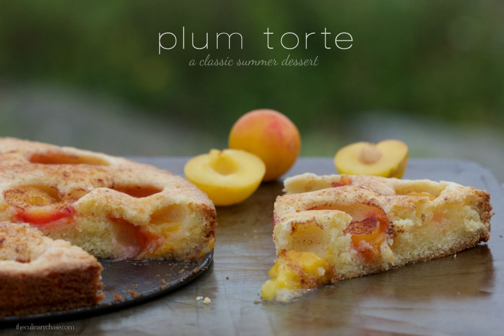 plum torte
