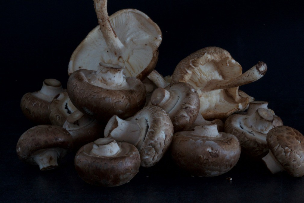 mushrooms by The Culinary Chase