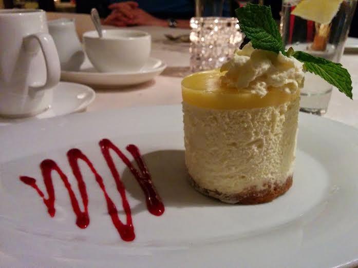 DaMaurizio ricotta cheesecake