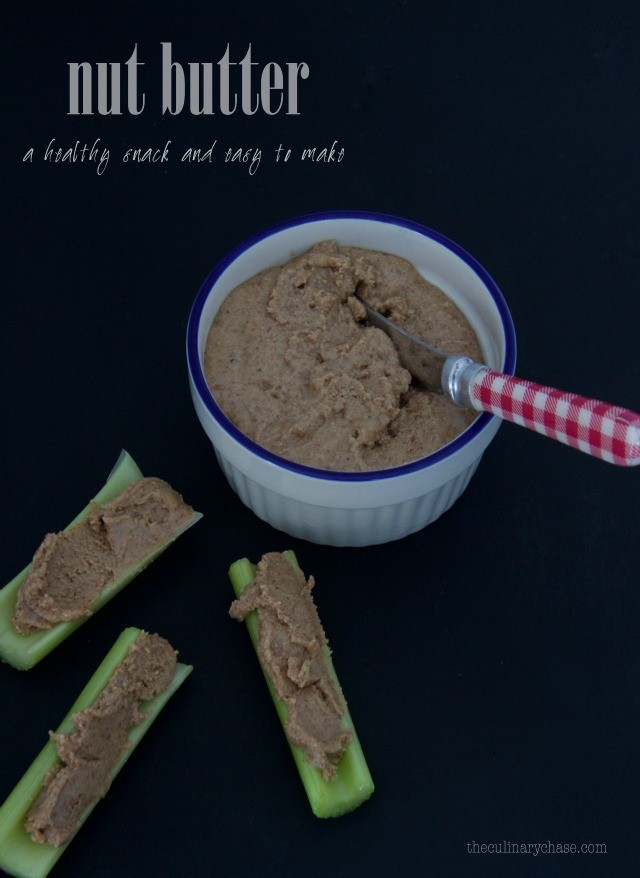 nut butter - easy to make