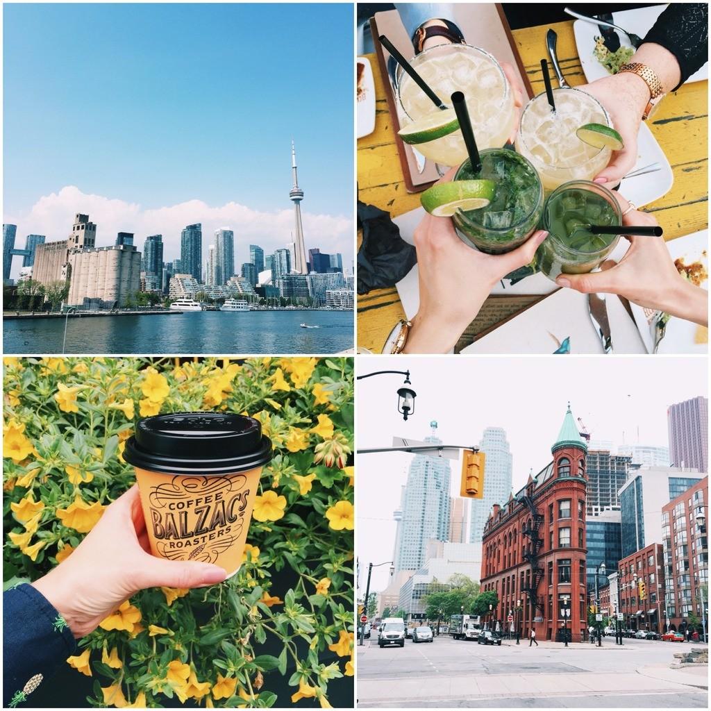 Toronto, Blazacs, Flat Iron, El Catrin, Distillery District, Cn Tower