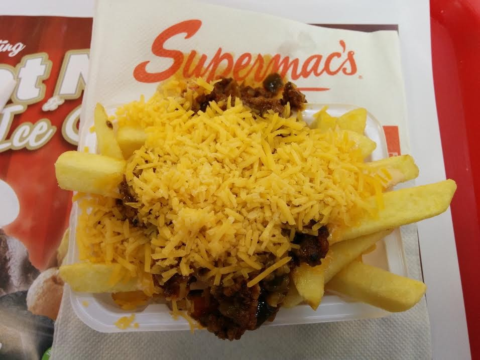 Supermacs taco fries