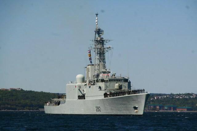 Operation Cutlass Fury Sail-past