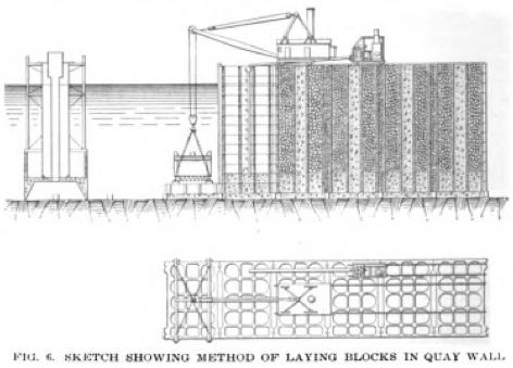 Constructing the Halifax Ocean Terminals.