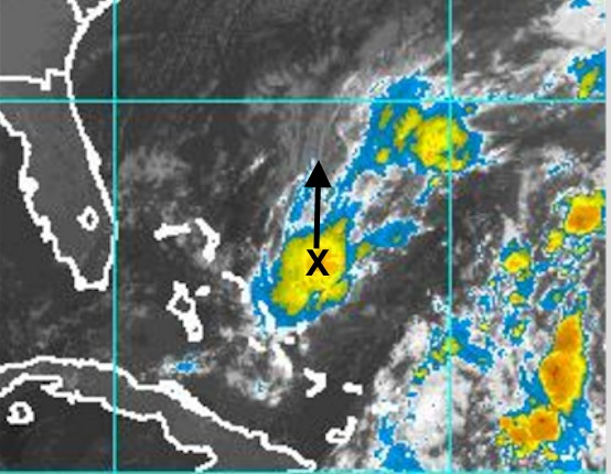 Satellite Image 6am Thursday