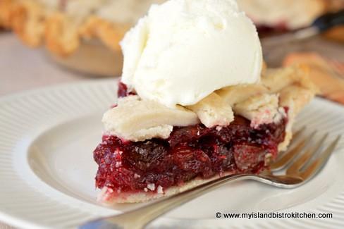 mock cherry pie island bistro