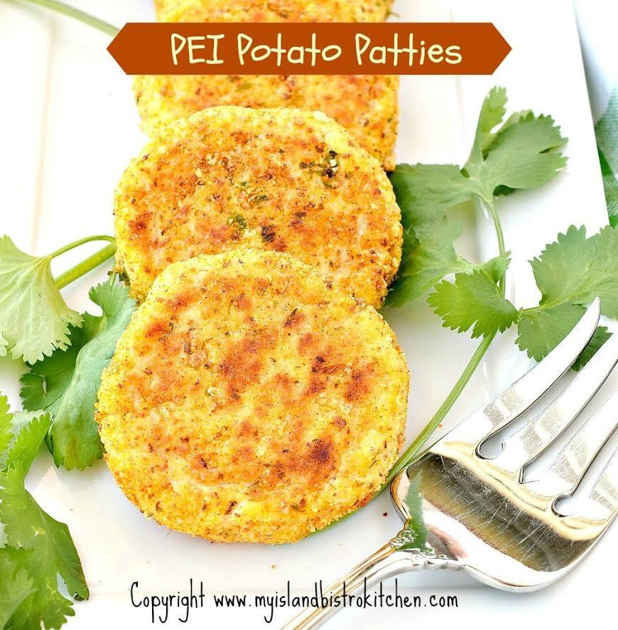 PEI potato patties