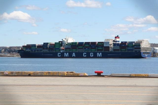 CMA-CGM Loire – Tied for Biggest