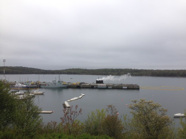 USS Minnesota for memorial day visit