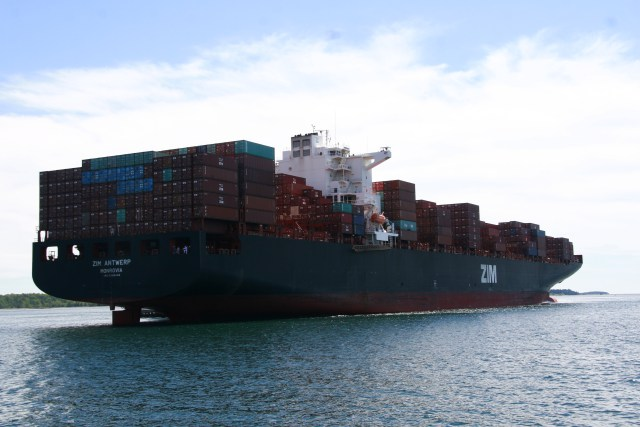 Biggest Container Ship Yet, And First 10,000+ TEU
