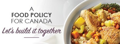 A Food Policy for Canada: Let's Build it Together