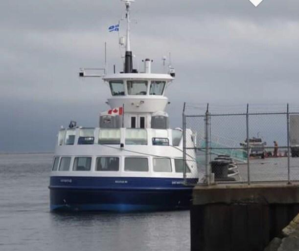 Dartmouth III in Gaspe
