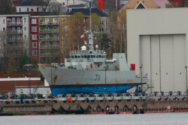 HMCS Summerside on the Synchrolift