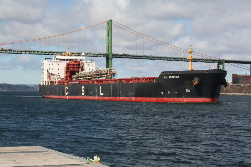 CSL Frontier sails from National Gypsum