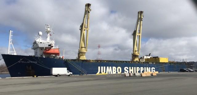 Jumbo delivers New work boat