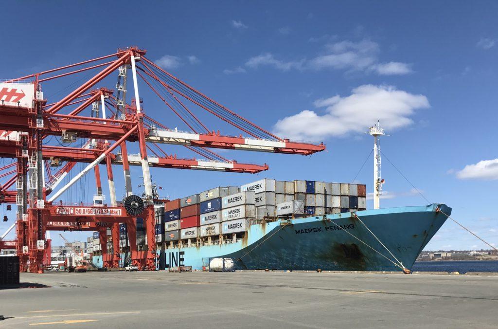 Maersk Penang at Pier 42
